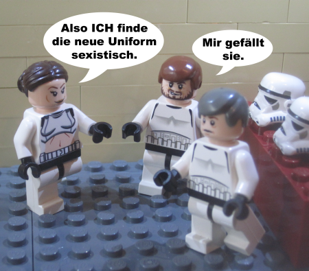 STAR WARS – sexistische Uniform